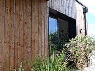 La composition des murs en bois
