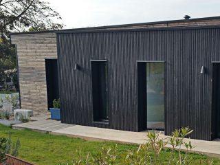 Les revêtements extérieurs de votre maison en bois